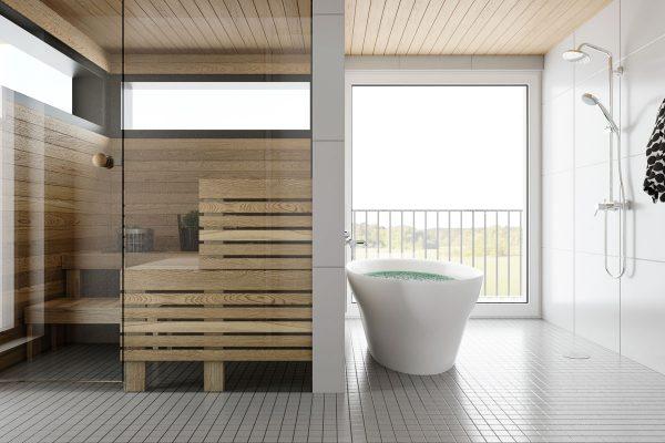 Kylpyhuone 134 m2