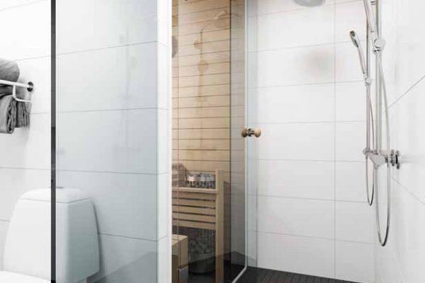 Kylpyhuone 90 m2